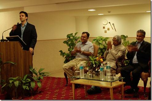 Bhaskar Pramanik (Microsoft Chairman) and Rahul Kansal (Times Brand Head)
