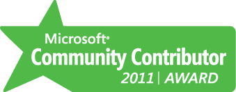 Paras Doshi Microsoft Community contributor 2011 MCC