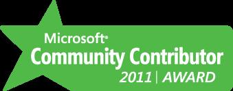 Paras Doshi Microsoft Community contributor 2011 MCC