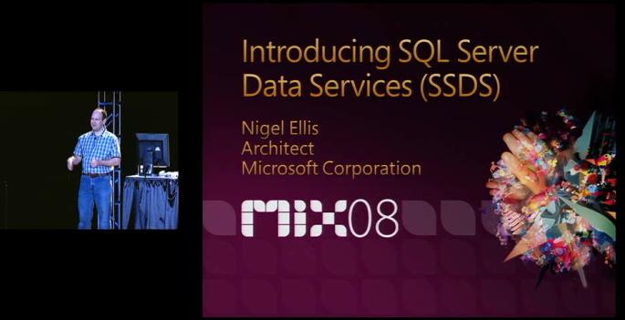 SQL Server Data services SSDS