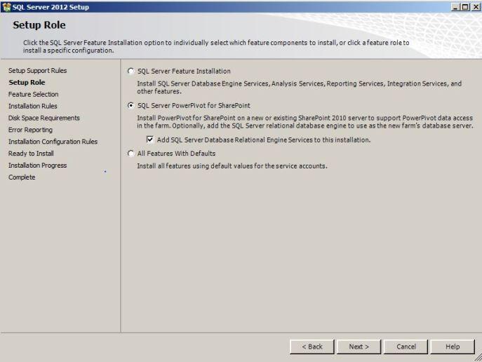 SQL Server PowerPivot For Sharepoint
