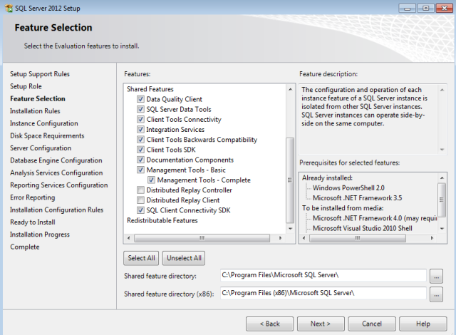 5 step by step install sql server analysis services 2012