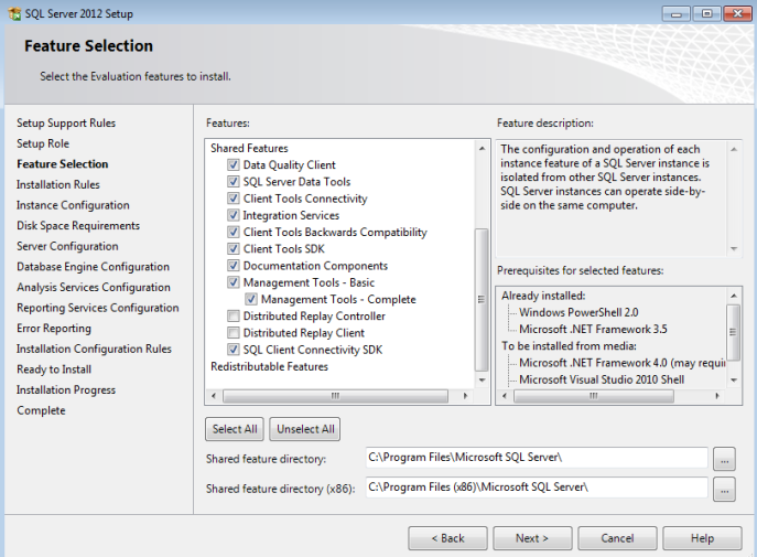 5 step by step install sql server analysis services 2012
