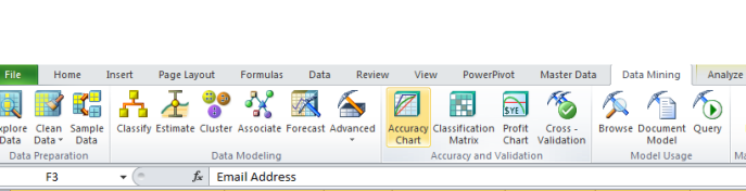 data mining in excel example customer classification for maketing maling list 0