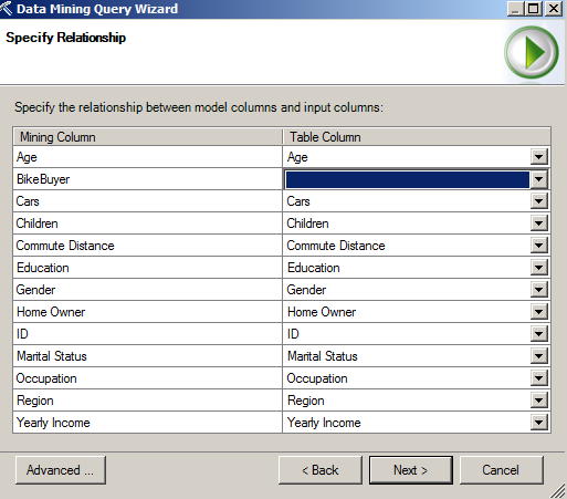 data mining in excel example customer classification for maketing maling list 10