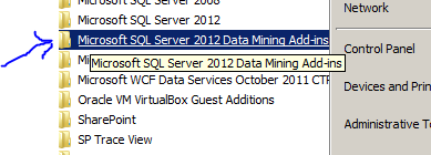 sql server 2012 data mining excel addin