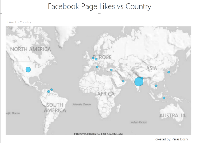 Maps Power View Excel 2013 social media analytics