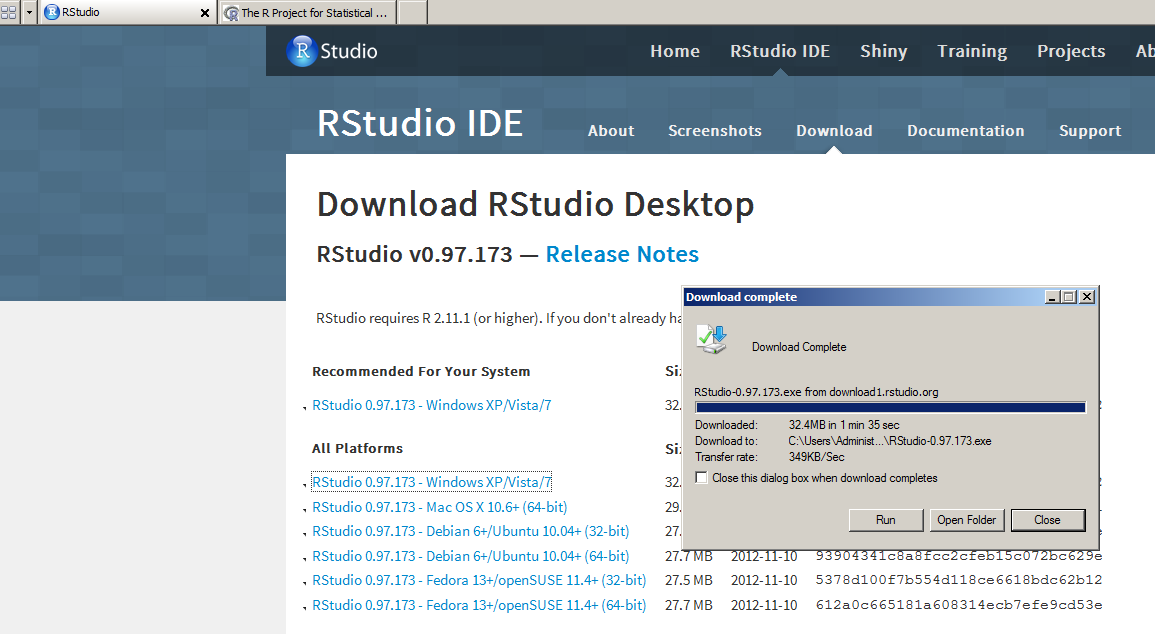 Let's Install R & RStudio on Windows Machine! - Insight Extractor - Blog install R studio for windows desktop