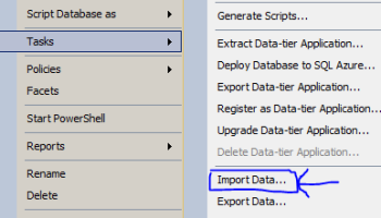 How to strip double quotes while importing data from CSV or
