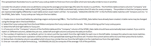 3 excel 2010 tutorial to play with fuzzy lookup