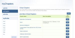 my PASS my Chapter Azure VC