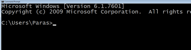 font size changed command prompt