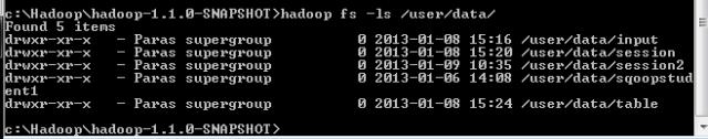 hadoop command line sqoop mapreduce hdfs file system