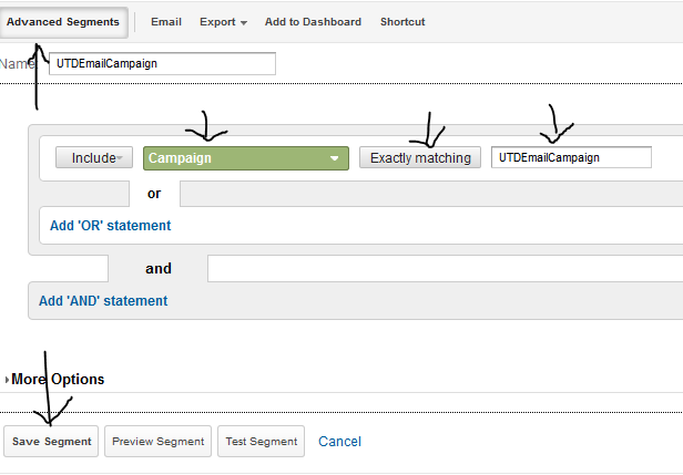 email campaign track google analytics