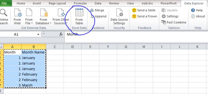 data explorer excel remove duplicates