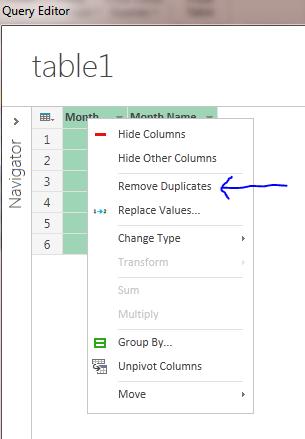data explorer remove duplicates excel
