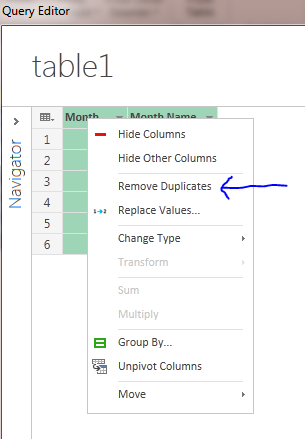 data explorer remove duplicates excel