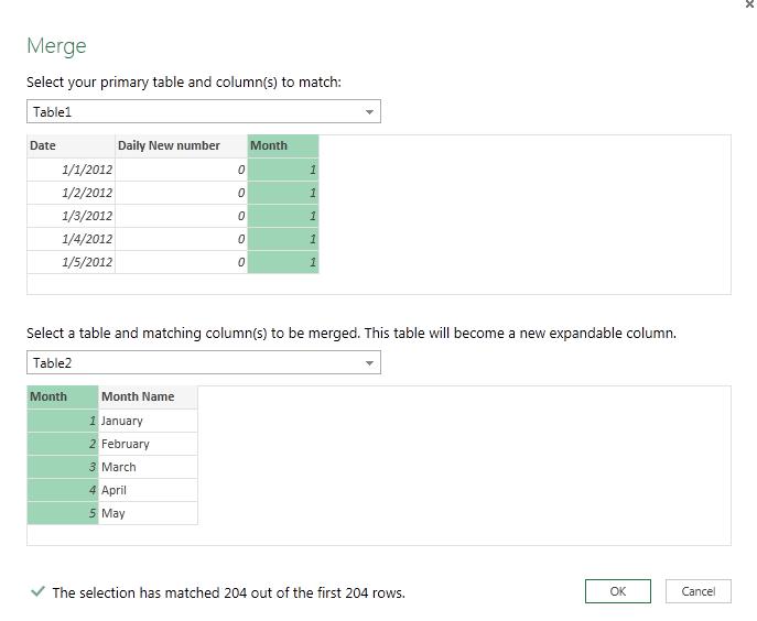 merge join excel data explorer