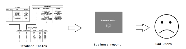 Business reporting analysis querying