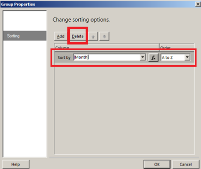 sorting sql server reporting services month names