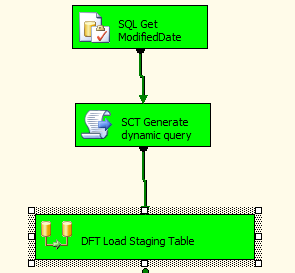 SSIS Incremental Load Staging Table 2