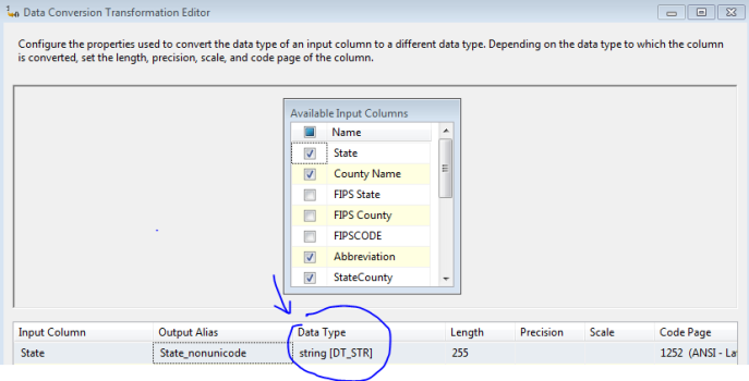Excel SQL Server Unicode Nonunicode